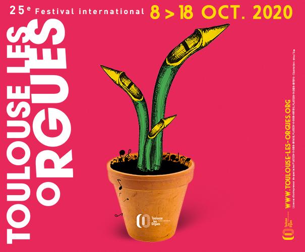 Festival Toulouse les orgues 2020